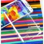 Пластиковый транспарентный олеофобный премиум чехол для LG G3 S