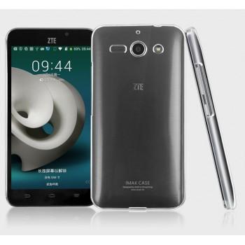 Пластиковый транспарентный олеофобный премиум чехол для Samsung Galaxy Mega 5.8