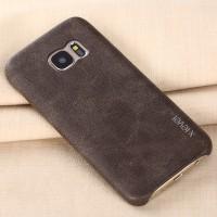 Кожаная винтажная накладка для Samsung Galaxy S7 Коричневый