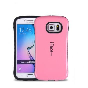 Силиконовый матовый непрозрачный эргономичный чехол с нескользящими гранями для Samsung Galaxy S7