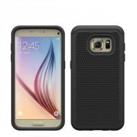 Силиконовый чехол экстрим защита для Samsung Galaxy S7 Черный