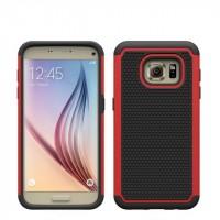Силиконовый чехол экстрим защита для Samsung Galaxy S7 Красный