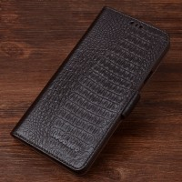 Кожаный чехол портмоне (нат. кожа крокодила) для Samsung Galaxy S7