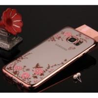 Силиконовый матовый дизайнерский чехол с принтом для Samsung Galaxy S7 Edge
