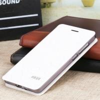 Чехол флип подставка на силиконовой основе текстура Соты для Xiaomi RedMi 3 Белый
