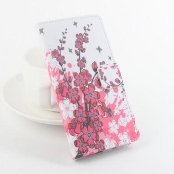 Дизайнерский чехол портмоне подставка с полноповерхностным принтом и застежкой для Xiaomi RedMi 3