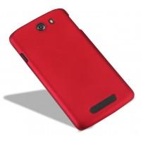 Пластиковый чехол для Philips i928 Красный