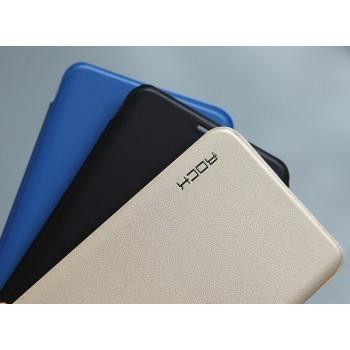 Изогнутый чехол флип на пластиковой основе для Samsung Galaxy S7 Edge