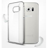 Силиконовый транспарентный премиум чехол повышенной защиты для Samsung Galaxy S7 Edge