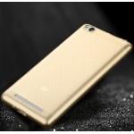 Силиконовый матовый полупрозрачный чехол повышенной защиты для Xiaomi RedMi 3