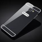 Двухкомпонентный чехол с металлическим бампером и поликарбонатной накладкой для Samsung Galaxy S7 Edge