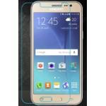 Ультратонкое износоустойчивое сколостойкое олеофобное защитное стекло-пленка для Samsung Galaxy J3 (2016)