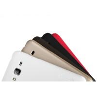 Пластиковый матовый нескользящий премиум чехол для Samsung Galaxy J3 (2016)