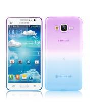 Силиконовый градиентный чехол для Samsung Galaxy J3 (2016)