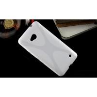 Силиконовый X чехол для Microsoft Lumia 640 Белый