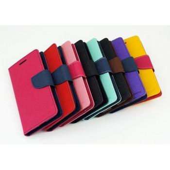 Текстурный чехол портмоне подставка на силиконовой основе с дизайнерской застежкой для ASUS Zenfone 2 Laser 5.5