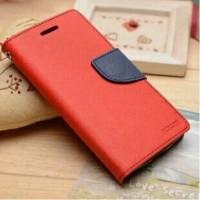 Текстурный чехол портмоне подставка на силиконовой основе с дизайнерской застежкой для ASUS Zenfone 2 Laser 5.5 Красный