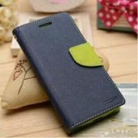 Текстурный чехол портмоне подставка на силиконовой основе с дизайнерской застежкой для ASUS Zenfone 2 Laser 5.5 Синий
