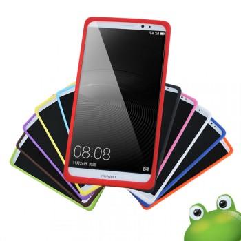 Силиконовый матовый нескользящий премиум чехол для Huawei Mate 8