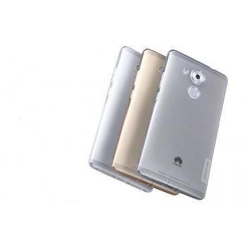 Силиконовый матовый полупрозрачный чехол повышенной защиты для Huawei Mate 8
