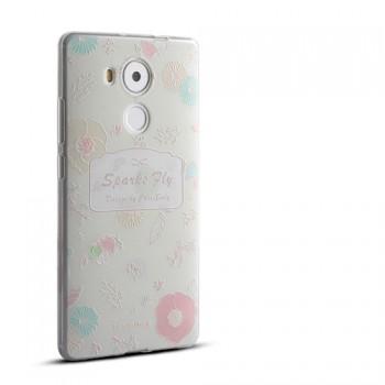 Силиконовый матовый дизайнерский чехол с эксклюзивной серией принтов для Huawei Mate 8
