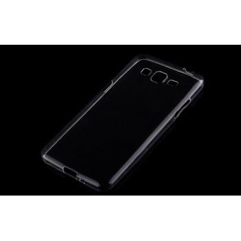 Силиконовый матовый транспарентный чехол для Samsung Galaxy Grand Prime