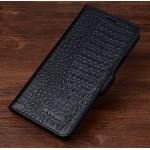 Кожаный чехол портмоне (нат. кожа крокодила) для Huawei Mate 8