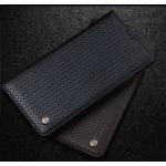Текстурный кожаный чехол портмоне (нат. кожа) на пластиковой основе для Huawei Mate 8