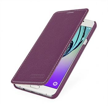 Кожаный чехол горизонтальная книжка (нат. кожа) для Samsung Galaxy A7 (2016)