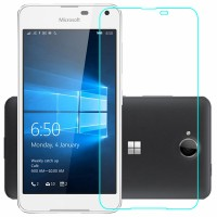 Ультратонкое износоустойчивое сколостойкое олеофобное защитное стекло-пленка для Microsoft Lumia 650