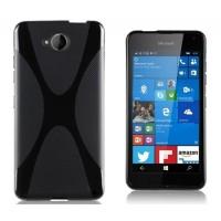 Силиконовый X чехол для Microsoft Lumia 650