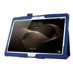 Чехол подставка с рамочной защитой экрана для Huawei MediaPad M2 10
