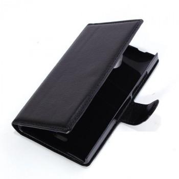 Чехол портмоне подставка с магнитной застежкой и внутренними карманами для Nokia X2