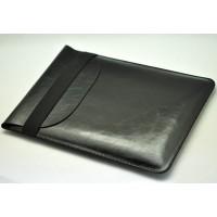 Кожаный вощеный мешок для Ipad Pro 9.7 Черный