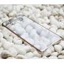 Оригинальный пластиковый транспарентный чехол с цветными границами (металлизированное напыление) для Samsung Galaxy A5 (2016)