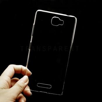 Пластиковый транспарентный чехол для Lenovo S856 Ideaphone