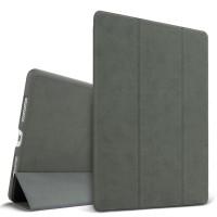 Винтажный чехол подставка сегментарный на поликарбонатной основе для Ipad Pro 9.7 Серый