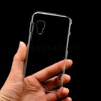 Пластиковый транспарентный чехол для LG Optimus L5 2 II