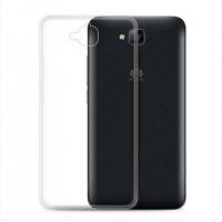 Силиконовый транспарентный чехол для Huawei Honor 4C Pro