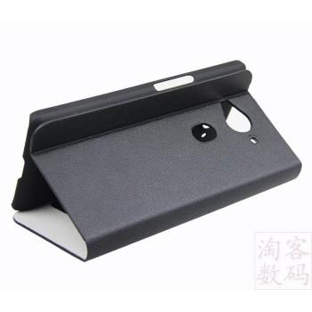 Чехол флип подставка на пластиковой основе с внутренними карманами для Acer Liquid E3