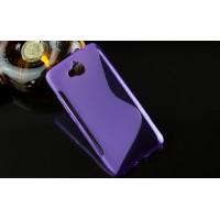 Силиконовый S чехол для Huawei Honor 4C Pro Фиолетовый