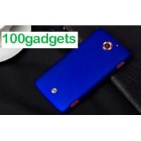 Пластиковый матовый чехол для Acer Liquid S2 Синий