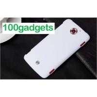 Пластиковый матовый чехол для Acer Liquid S2 Белый