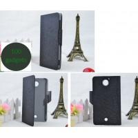 Чехол флип подставка текстурный на пластиковой основе с магнитной застежкой для Acer Liquid S2 Черный
