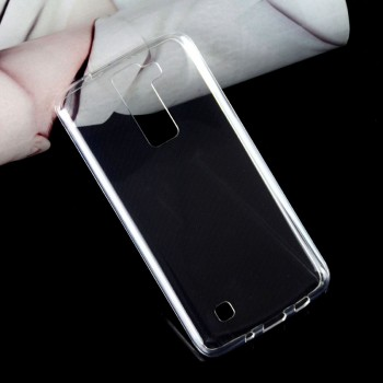 Силиконовый транспарентный чехол для LG K8