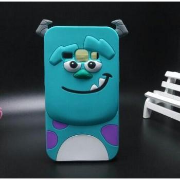 Силиконовый дизайнерский фигурный чехол для Samsung Galaxy J1 (2016)