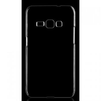 Пластиковый транспарентный чехол для Samsung Galaxy J1
