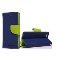 Чехол портмоне подставка на силиконовой основе с защелкой для ASUS Zenfone 2 Laser 5 ZE500KL Синий