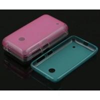 Полупрозрачный силиконовый чехол для Nokia Lumia 530