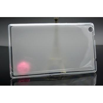 Силиконовый полупрозрачный чехол для Lenovo Tab 2 A8